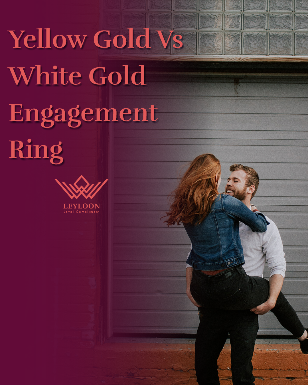 Yellow Gold Vs White Gold Engagement Ring