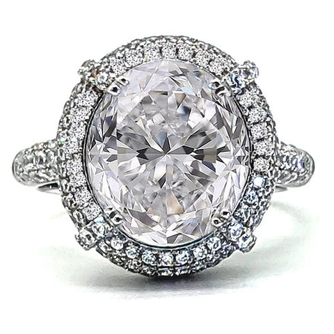 Top 3 Under $12000 Vintage Moissanite Engagement Rings