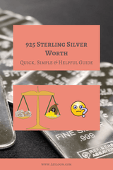 How Much is 925 Sterling Silver Worth?