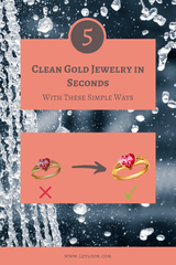 HOW TO CLEAN GOLD JEWELRY AT HOME