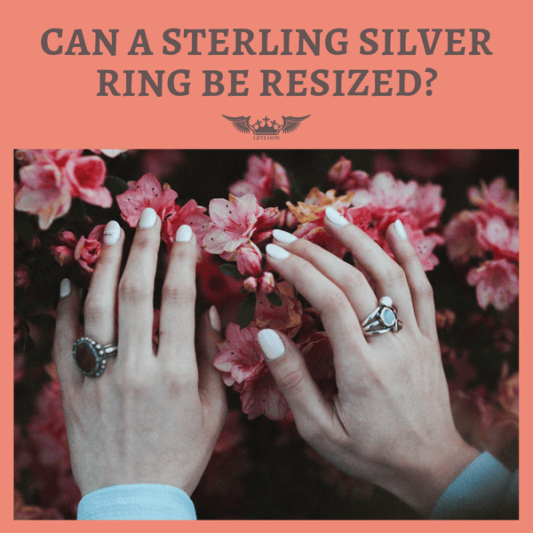 CAN A STERLING SILVER RING BE RESIZED?