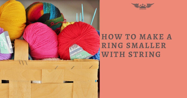 HOW TO MAKE A RING SMALLER WITH STRING