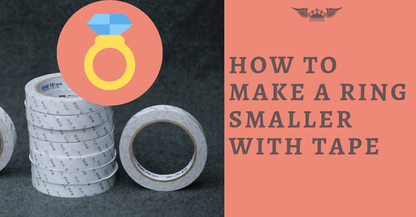 HOW TO MAKE A RING SMALLER WITH TAPE