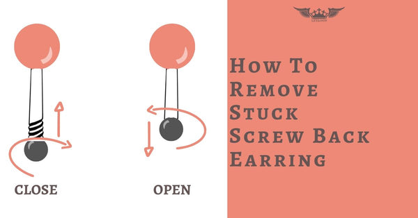 How To Remove Stuck Screw Back Earrings