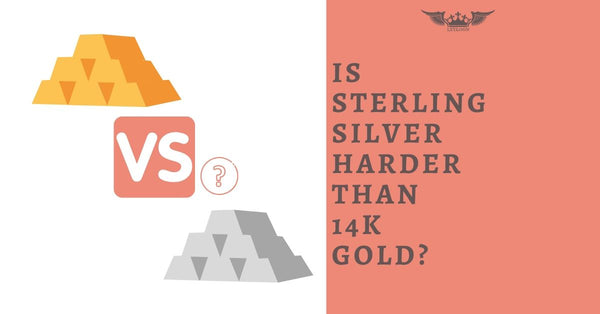IS STERLING SILVER HARDER THAN 14K GOLD?