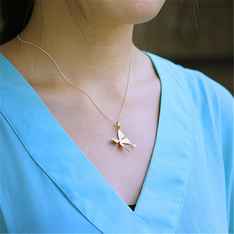 INSPIRATIONAL JEWELRY FOR CANCER PATIENTS - Butterfly Pendant