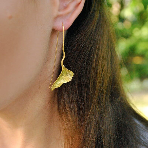 Jewelry Presents for Grown Up Daughters - Ginkgo Earrings