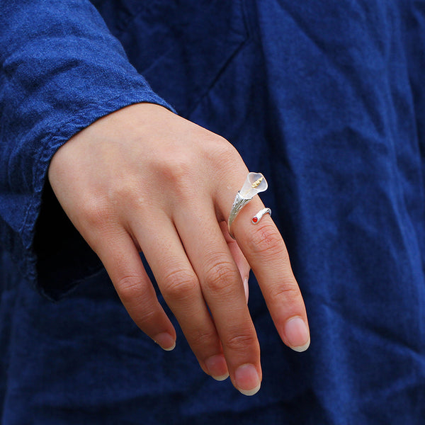 Jewelry Presents for Grown Up Daughters - Calla Lily Ring