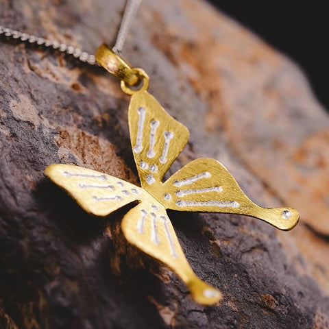 JEWELRY TO REMEMBER A LOVED ONE WHO PASSED AWAY - Butterfly Pendant