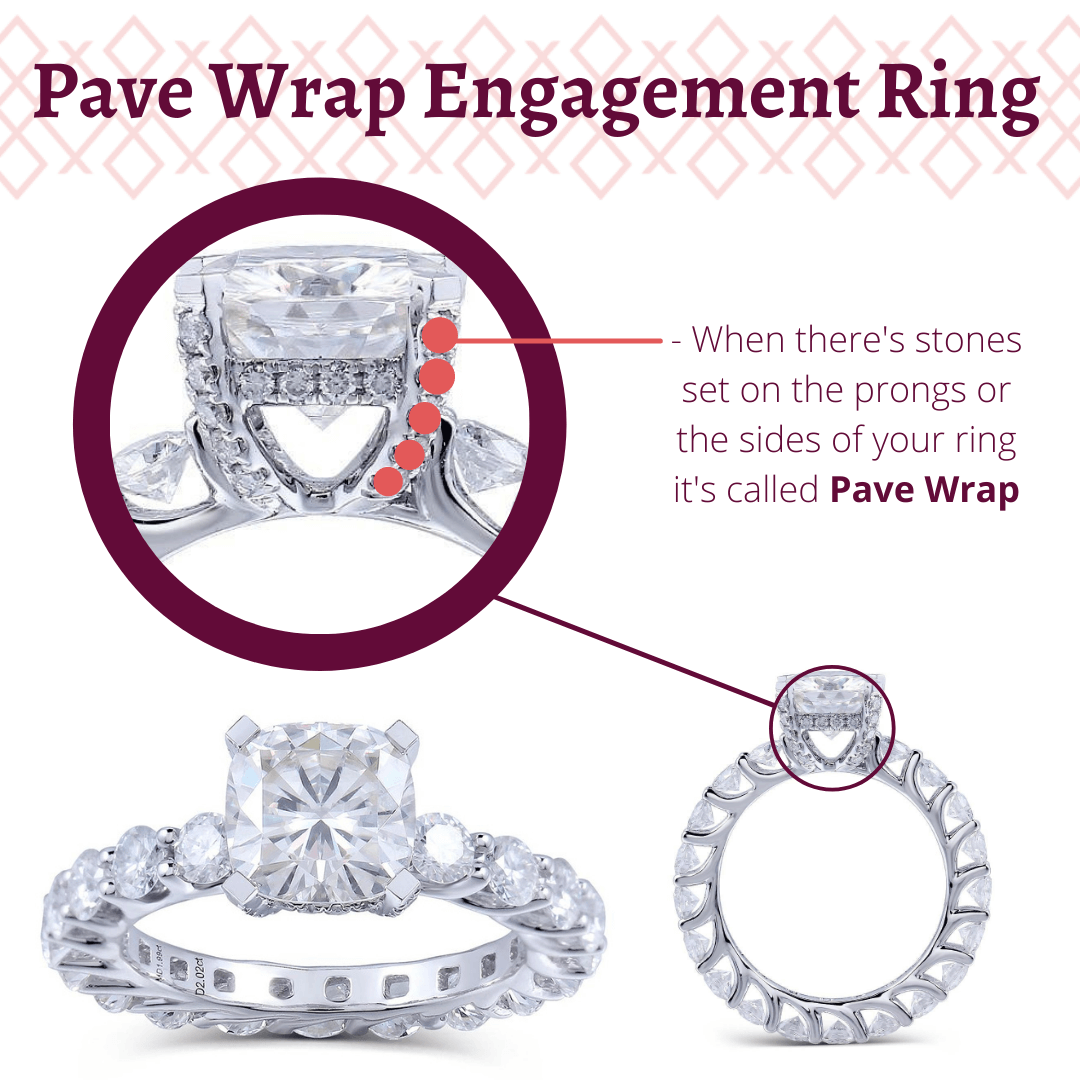 What's Pave Wrap Engagement Ring
