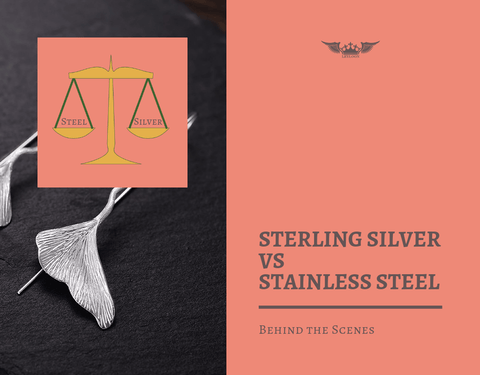 Stainless Steel Jewelry vs Sterling Silver