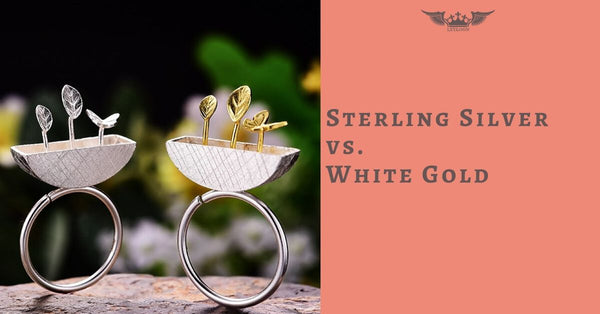 Sterling Silver vs. White Gold