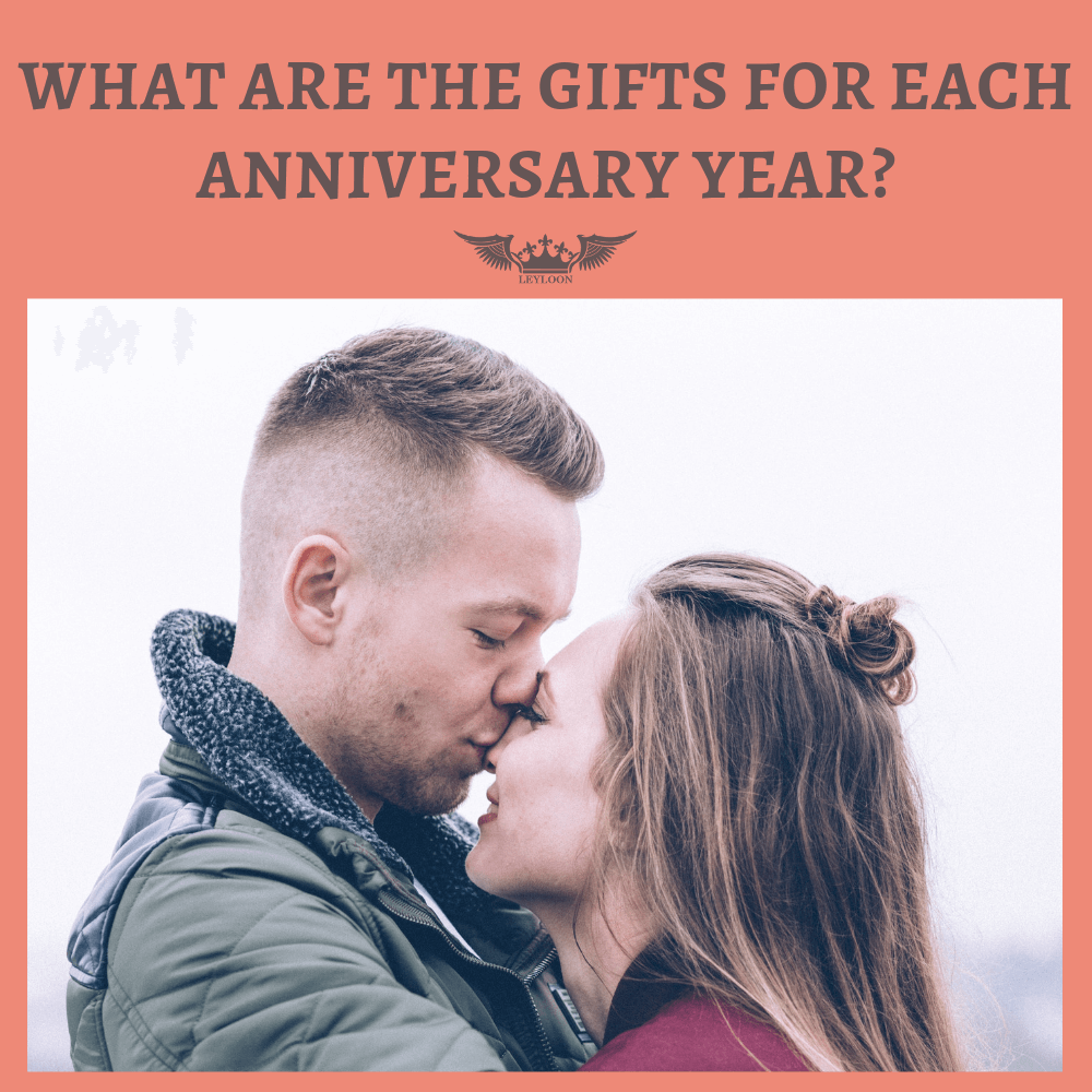 WHAT ARE THE GIFTS FOR EACH ANNIVERSARY YEAR?