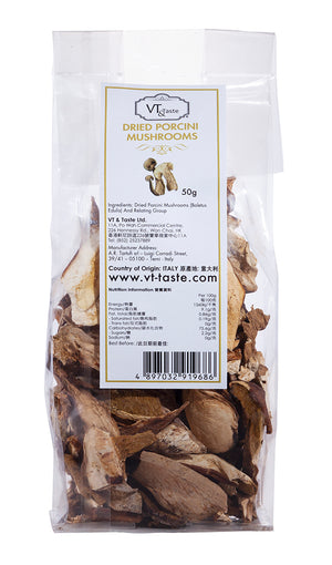VT & Taste Dried Porcini Mushrooms