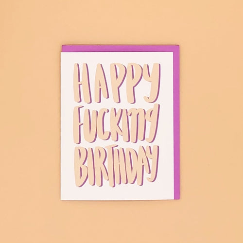 Happy Fucking Birthday - Craft Boner