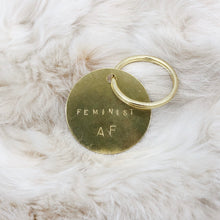 Load image into Gallery viewer, Hand-stamped keychains - Independent Mountain Jewelry
