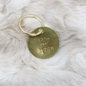 Hand-stamped keychains - Independent Mountain Jewelry