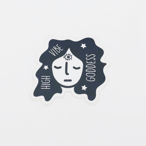 High Vibe Goddess Sticker - Sammiotzi