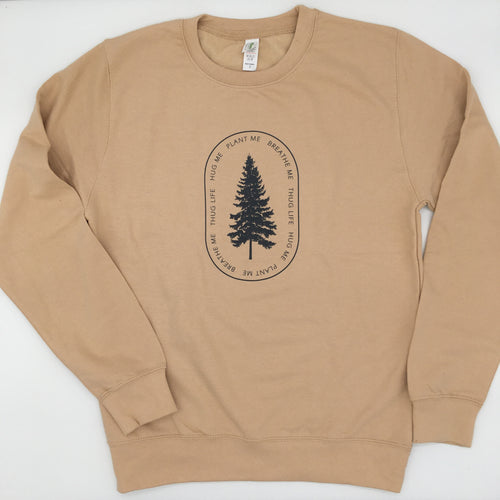 Tree Thugger Crew Neck (Unisex) - ThemeOne