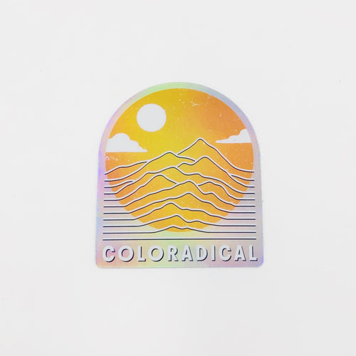 Vibrations Hologram Sticker - Coloradical