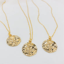 Load image into Gallery viewer, Rose Wax Seal Necklace  - Heritage & Bloom