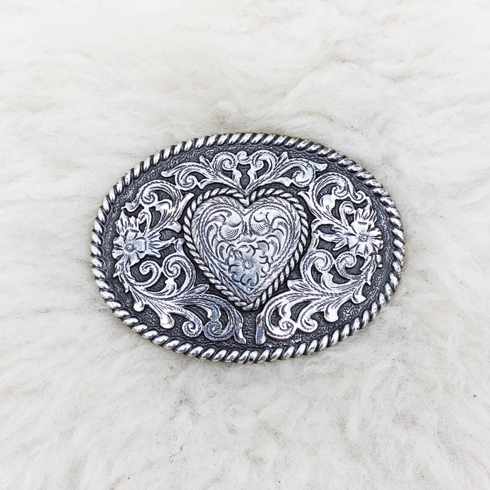 Heart Design Belt Buckle