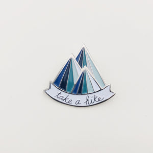 Take a Hike Pin - I Like Sara