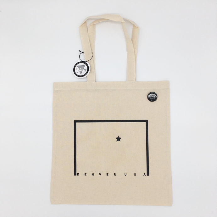 Map Minimal Tote - ThemeOne