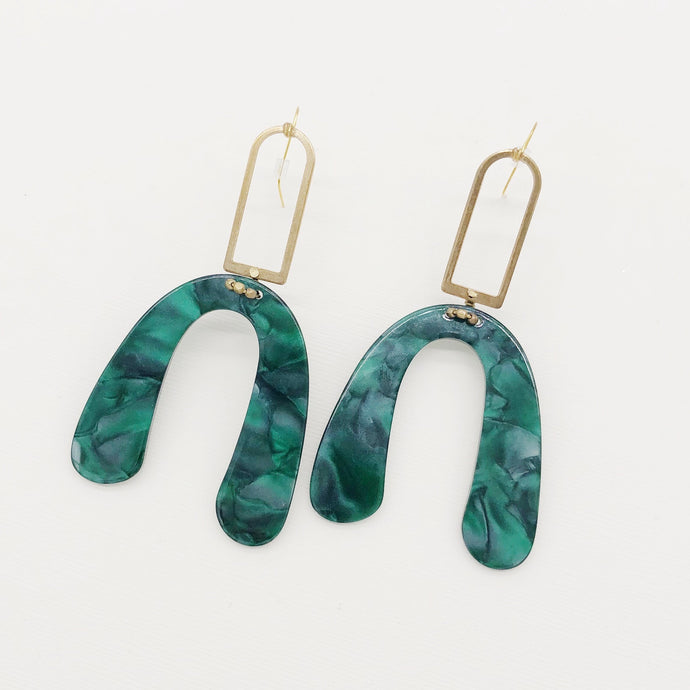 Sloane Earrings - Studio Blue Jeanne