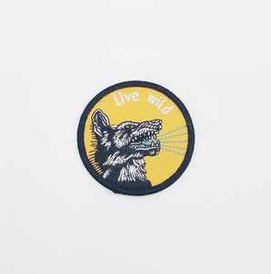 Live Wild Patch - I Like Sara