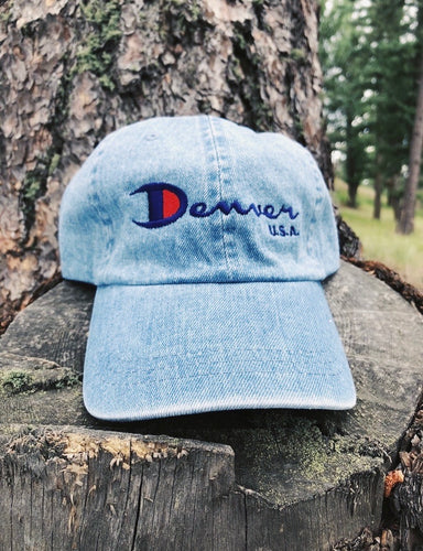 Denver Champ Hat (Denim)