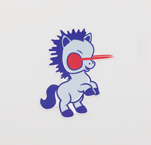 Baby Blucifer Sticker - ThemeOne