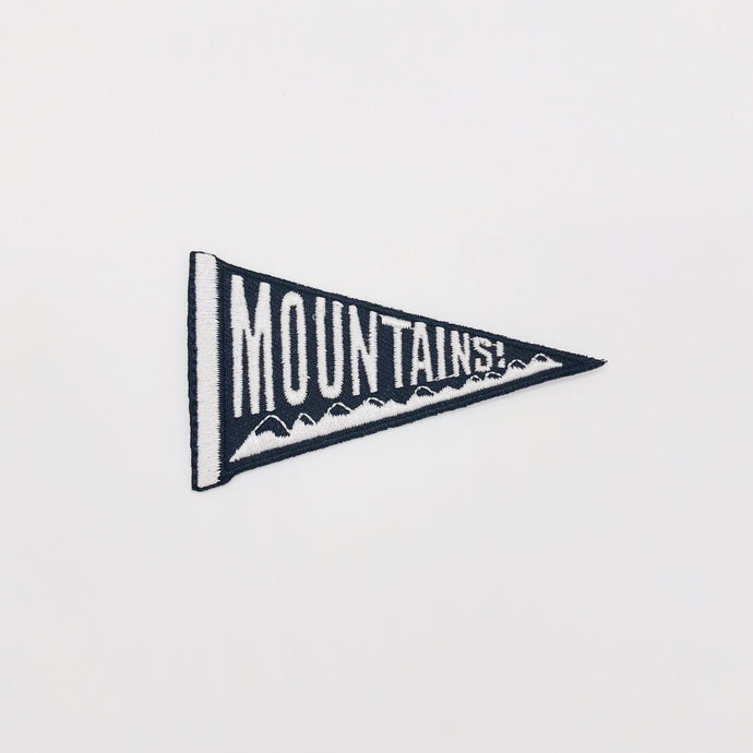 Mountains Patch - I Like Sara