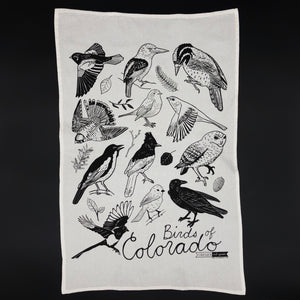 Colorado Birds Tea towel - I Like Sara