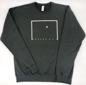 Map Minimal Crew Neck (Unisex) - ThemeOne