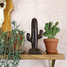 Load image into Gallery viewer, Hand-Carved Wood Saguaro