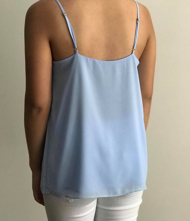 Alice Blue Strap Top