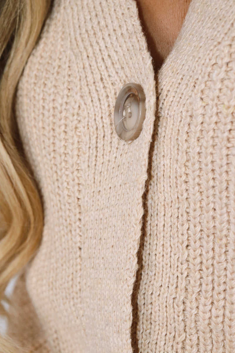 Madison Cable Knit Cardigan