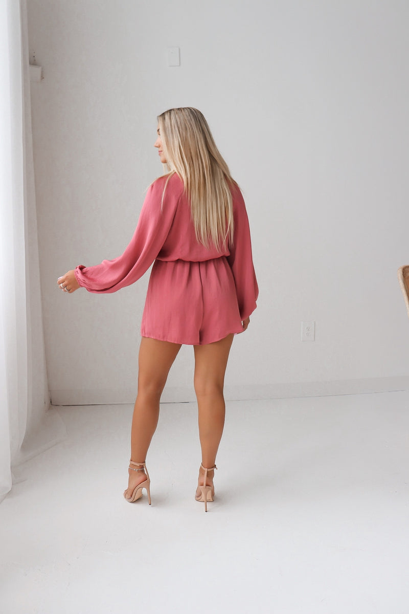 Roxy Long Sleeve Romper