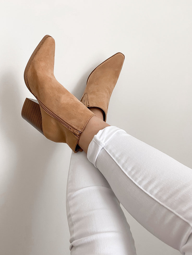 Chloe Pointy Toe Booties