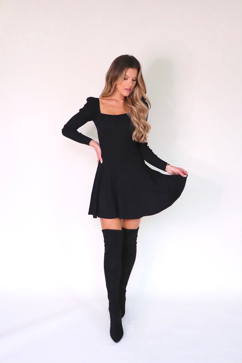 Harriett A Line Dress