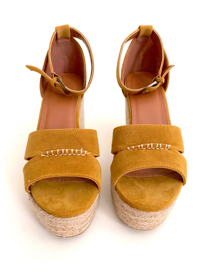 Marigold Wedge Sandals