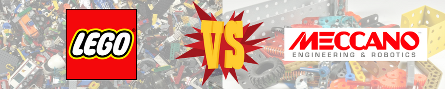 LEGO vs Meccano: le match