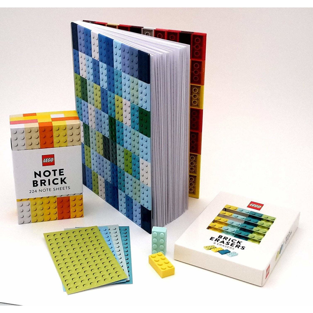 Pack papeterie LEGO - Carnet, notes et gommes image