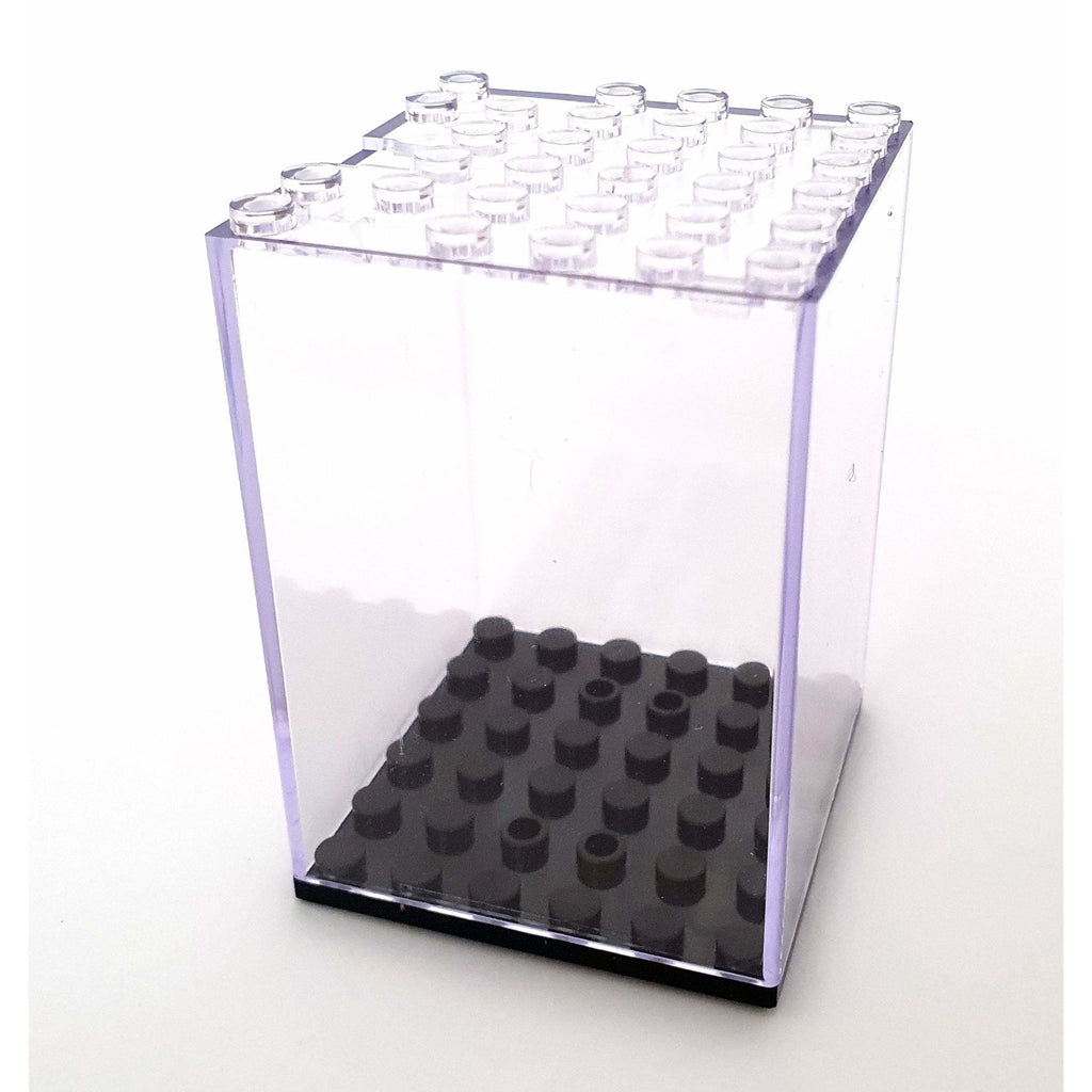 Mini vitrine figurine 6x6 empilable - La Briqueterie