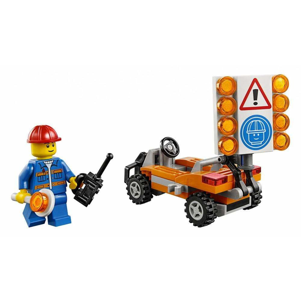 LEGO Road Worker (Polybag) - 30357 - City - La Briqueterie