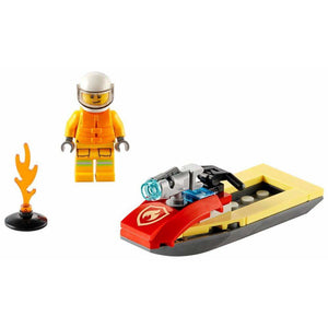 LEGO Fire Rescue Water Scooter (Polybag) - 30368 - City image