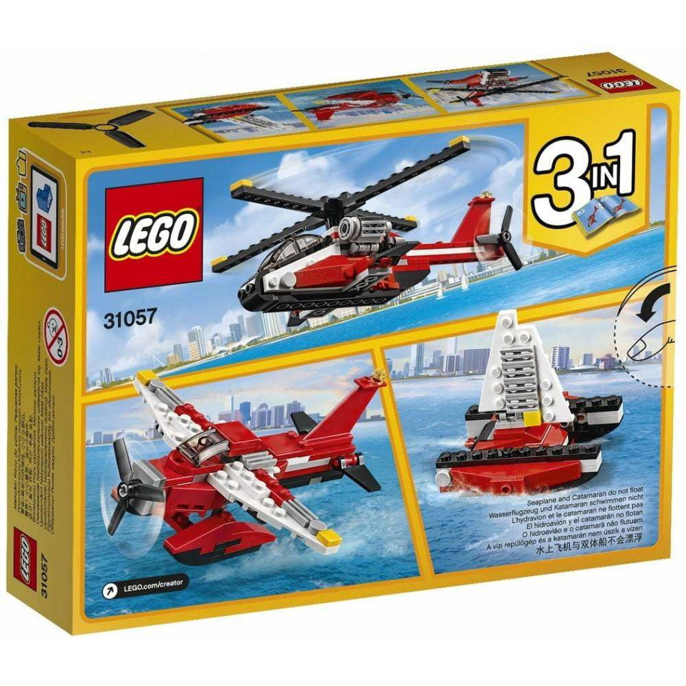 LEGO L'hélicoptère rouge - 31057 - Creator image