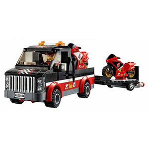 LEGO Le transporteur de motos de course - 60084 - City