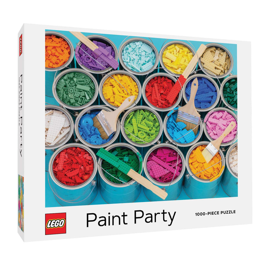 Puzzle LEGO Paint party 1000 pièces image
